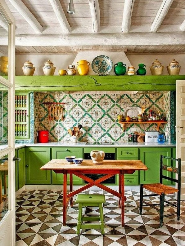 17 Eclectic Kitchens That Are Too Good To Be True 05
