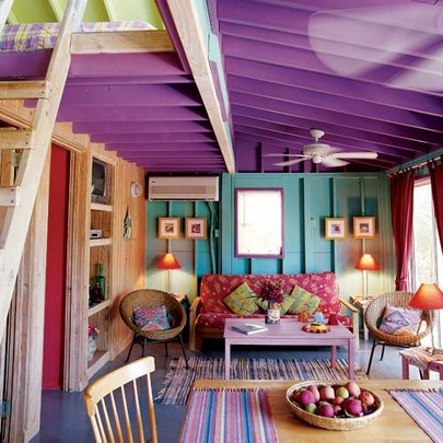 Shake Up Your Space With Color, Indoors Or Out 23