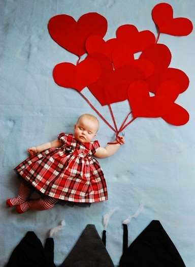 18 Pretty DIY Ornament For Baby Photo Shoot Decoration 16
