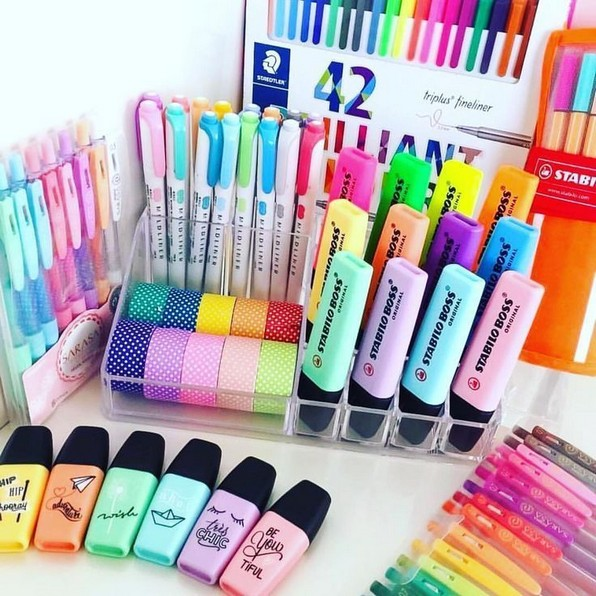 21 Functional DIY Stationery Storage To Have A Good Organizer 29