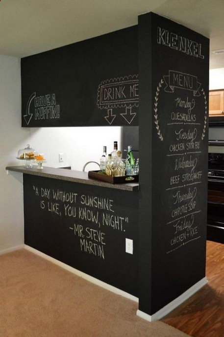 17 Creative DIY Chalkboard Ideas For To Beautify Your Home Decoration 12