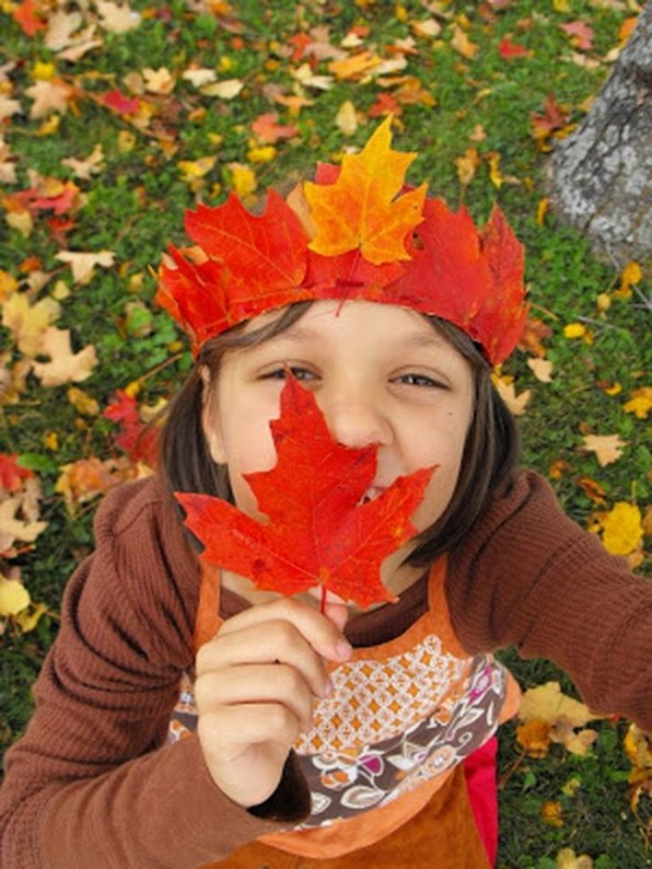 17 DIY Creative Colorful Leaves Fall Craft Ideas For Classroom Activities 07