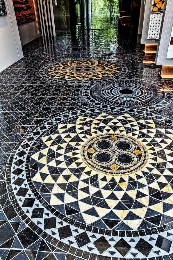 17 Luxury Mosaic Floor Pattern Ideas You Definitely Want To Have 05
