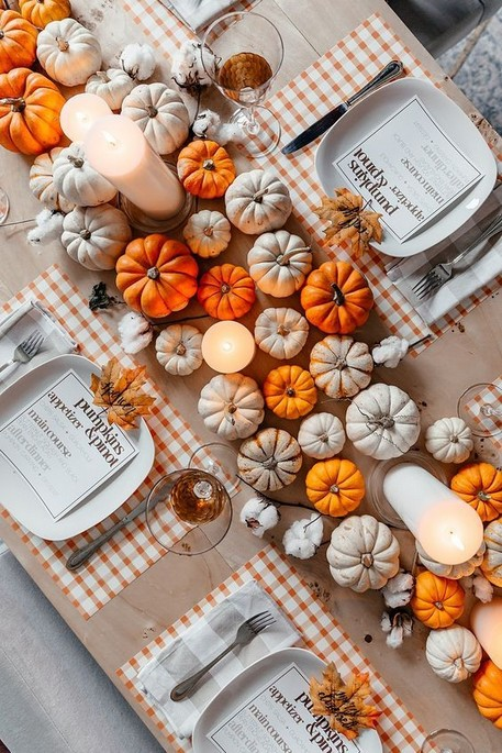 18 Pretty DIY Thanksgiving Decoration Ideas 25