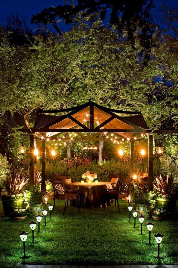 24 Most Beautiful Outdoor Lighting Ideas To Inspire You 15