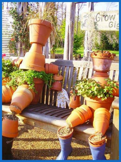 26 Creative DIY Clay Flower Pot Craft Ideas 05