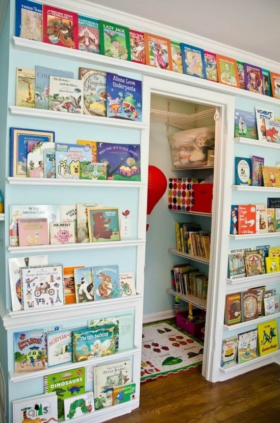 27 Smart And Unusual Book's Storage Ideas For Book Lovers 25