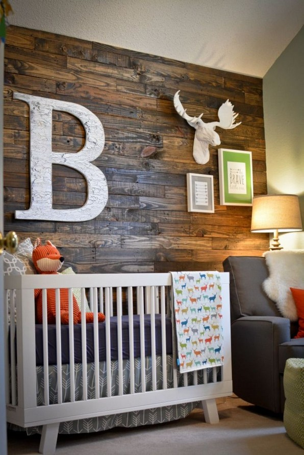 28 Unique Baby Boy Nursery Room With Animal Design 29